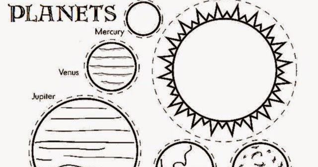 Free Solar System Coloring Pages Planet Sheets Sheet