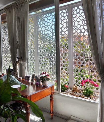 Id andaluciart celos as y tallados - Celosia de madera para jardin ...