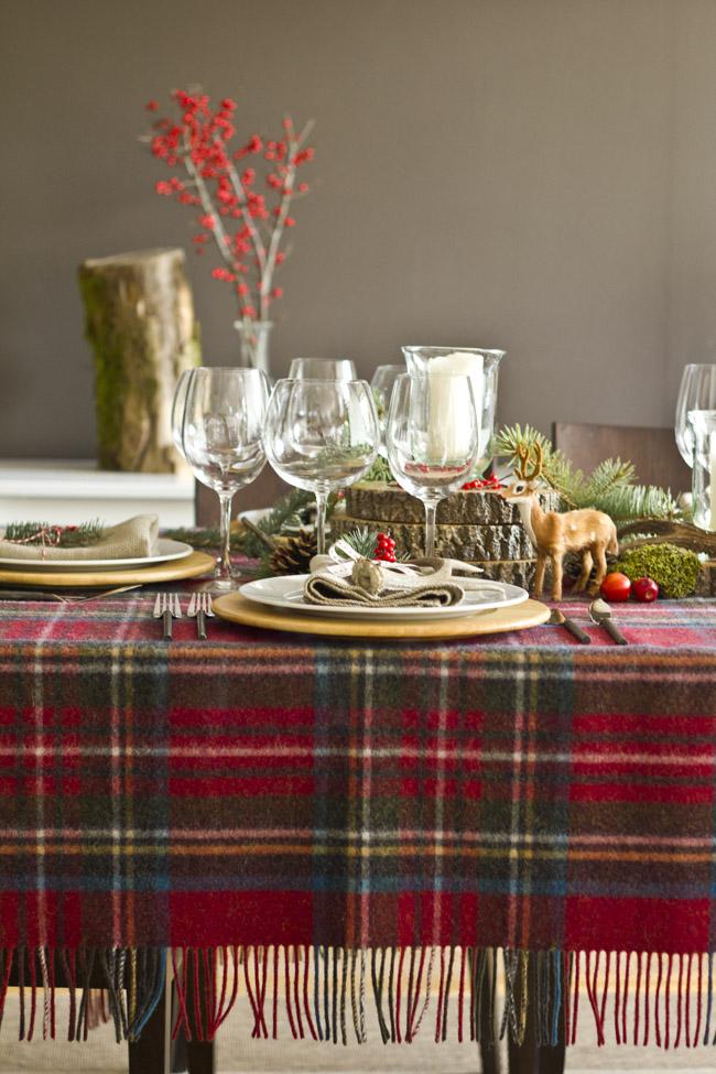 I love bugs rincones que inspiran mesas de navidad con - Decoracion mesa de navidad ...