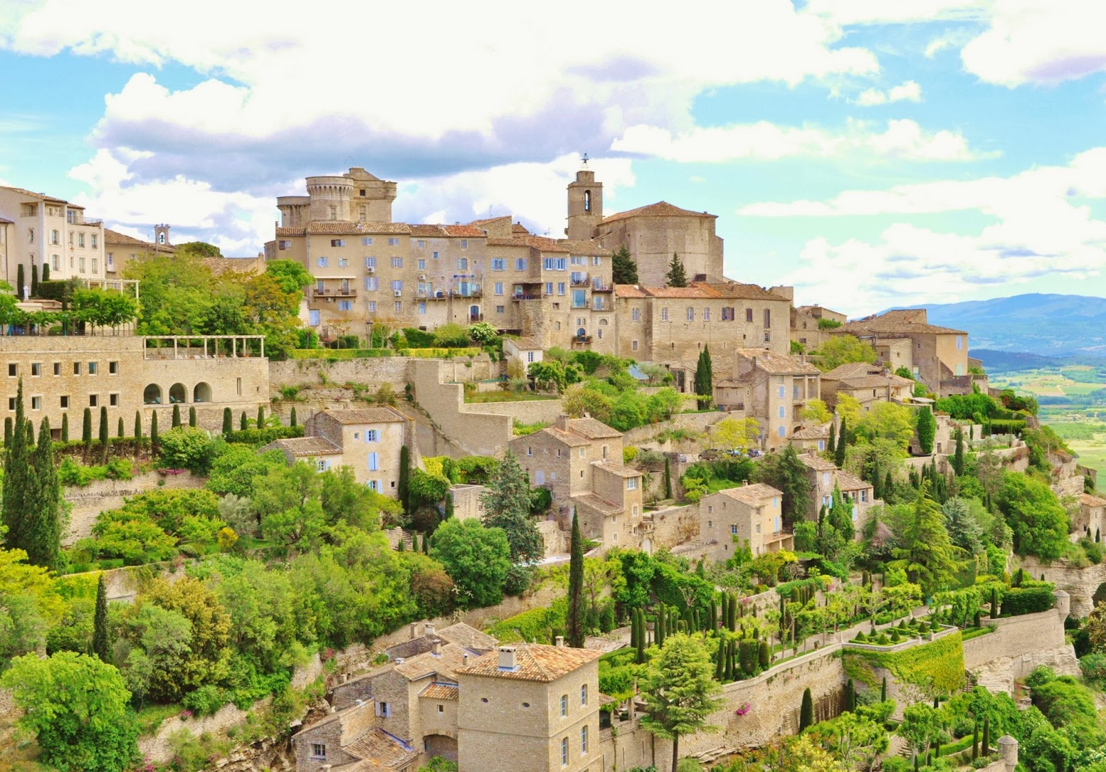 Our house in provence gordes one of the most beautiful for Provence home