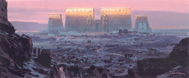 Prince of Egypt BG by Paul Lasine
