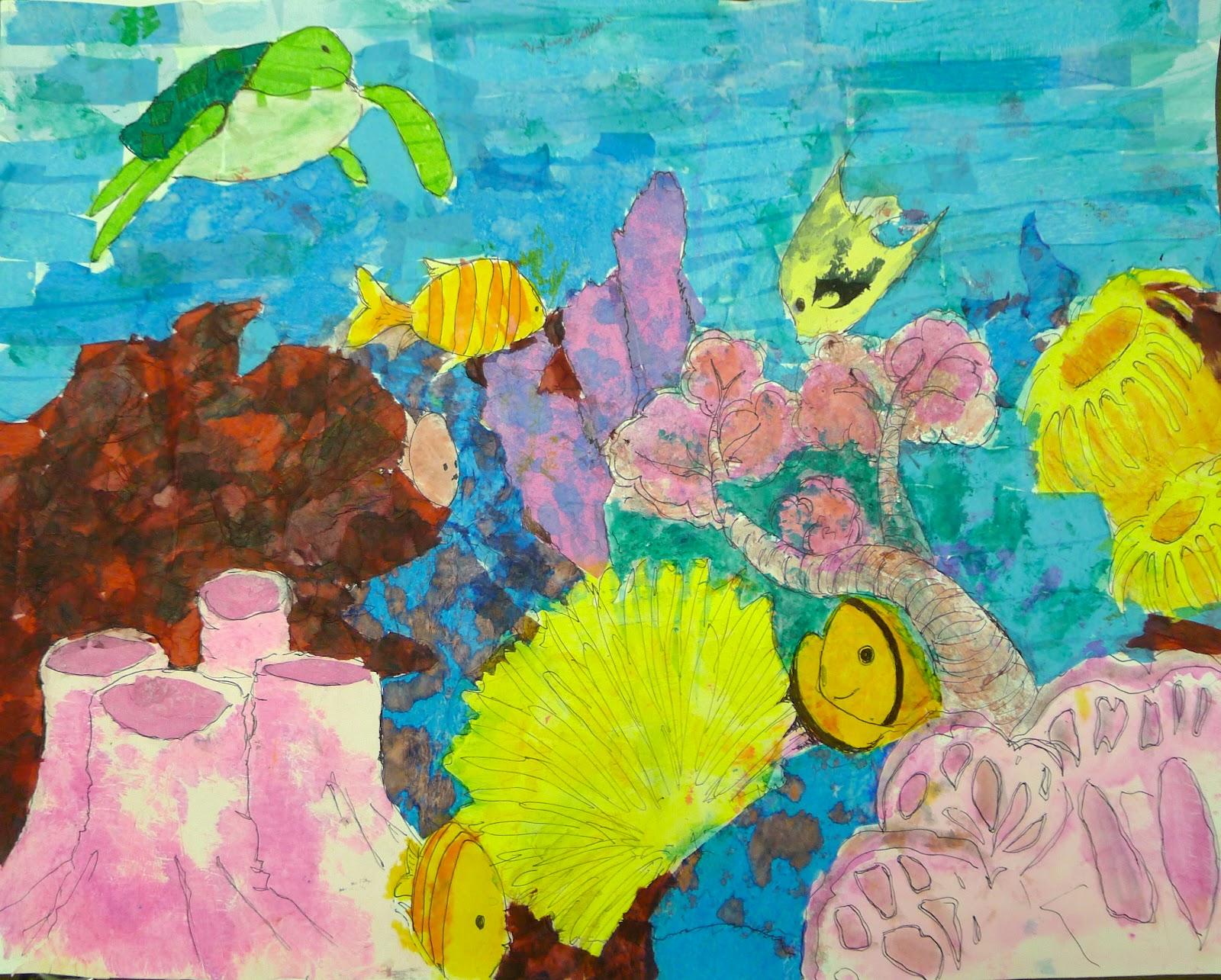 Coral Reef Essay P Coral Reef Essay