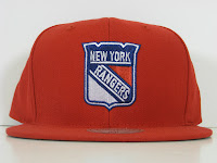NHL NEW YORK RANGERS SNAPBACK MITCHELL & NESS One Tone Red Hat