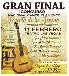 Gran Final I Concurso Cante Flamenco