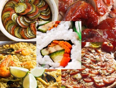 La diversidad de culturas gastronomia mundial for Platos fuertes franceses