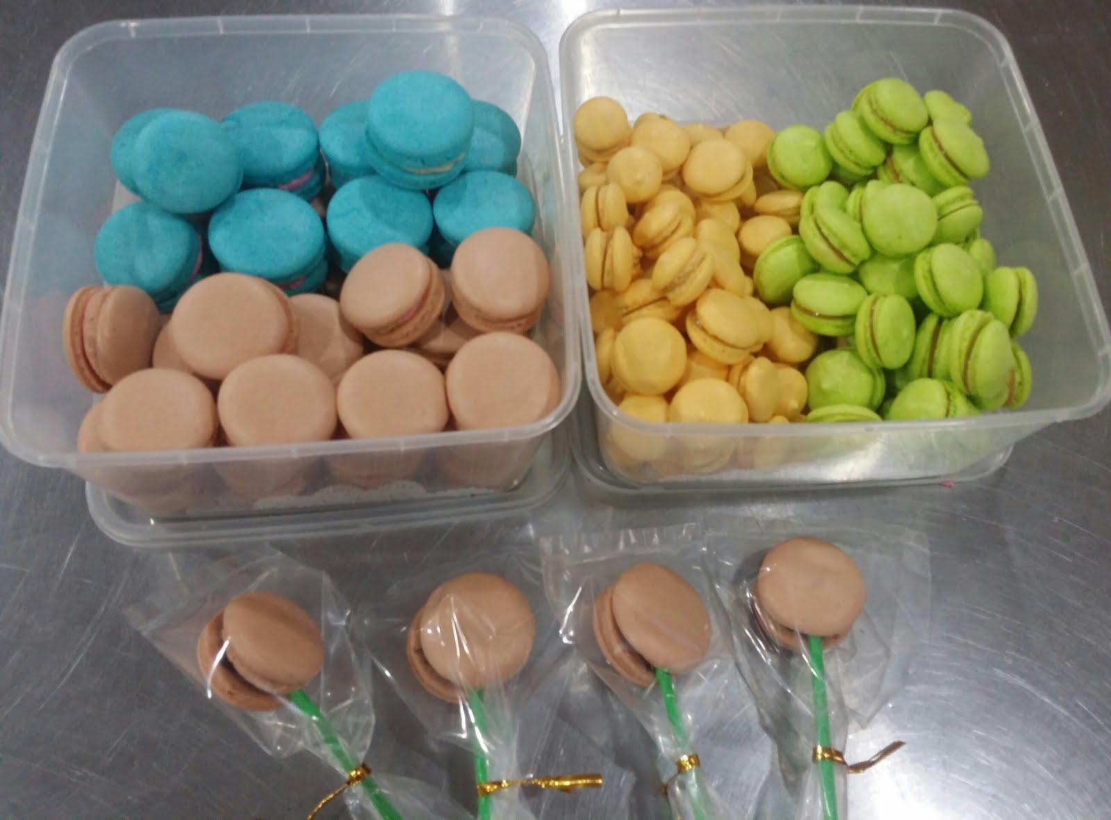 Kelas DIY Macaron Italian & French Method RM250