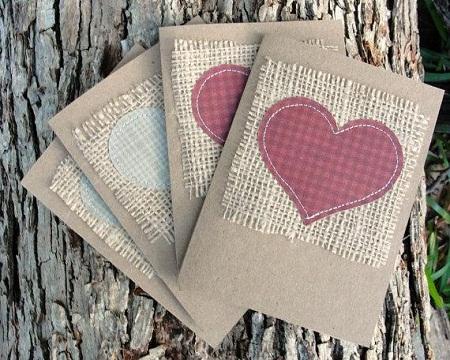 10 ideas de reciclaje para bodas reutiliza - Cuadros con tela de saco ...