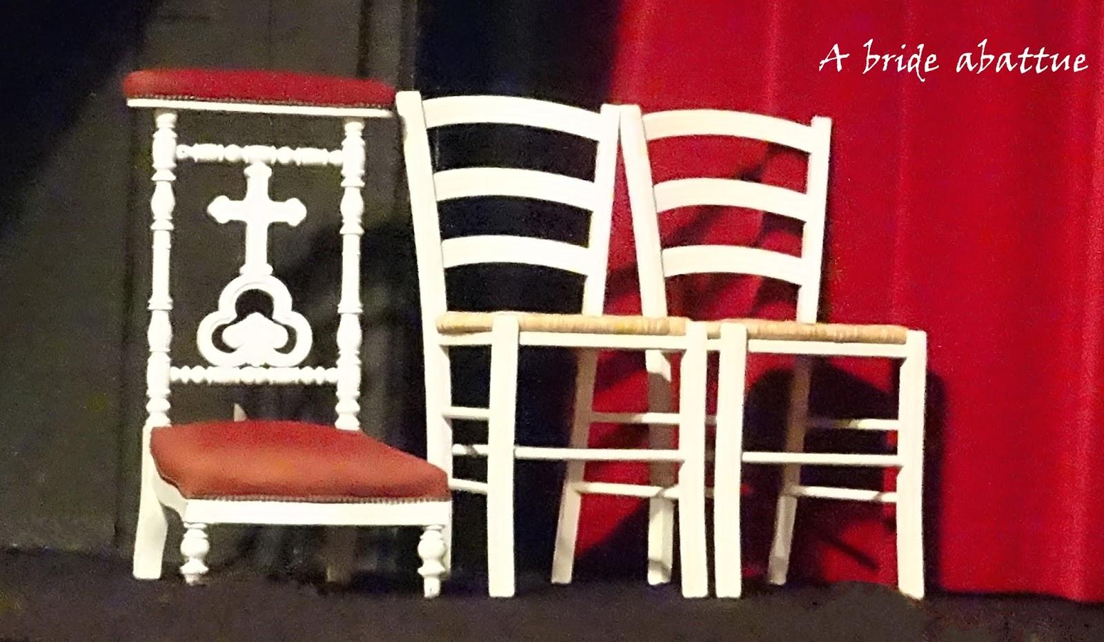 a bride abattue les voeux du coeur au th tre la bruy re. Black Bedroom Furniture Sets. Home Design Ideas
