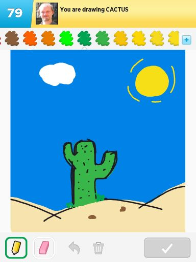 Gospvg Draw Something Cactus