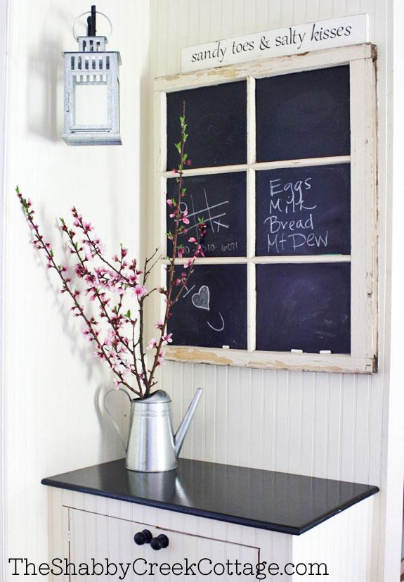 Chalkboard window tutorial