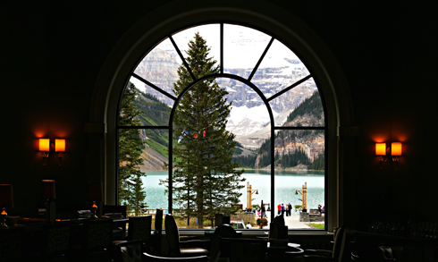 chateau lake louise hotel banff national park alberta canada
