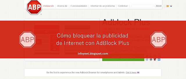 Cómo bloquear la publicidad de Internet con AdBlock Plus