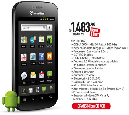harga smartfren andromax g i2 u3 terbaru 2014 harga smartfren