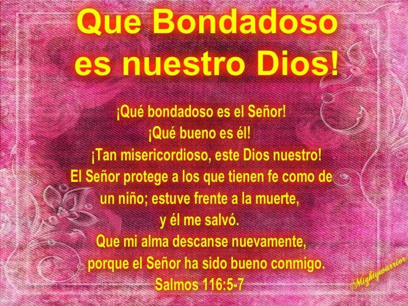 """... PODEROSO GUERRERO: Salmos 116:5-7 ~~~"""" Que bondadoso es nuestro Dios: http://poderosoguerrerodejesus.blogspot.com/2013/12/salmos-1165-7-que-bondadoso-es-nuestro.html"""