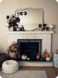 Halloween: Decore sua lareira