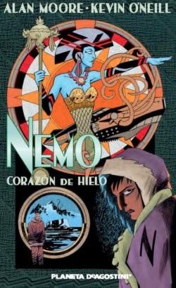 """Portada de """"Nemo: Corazón de Hielo"""", de Alan Moore y Kevin O´Neil"""