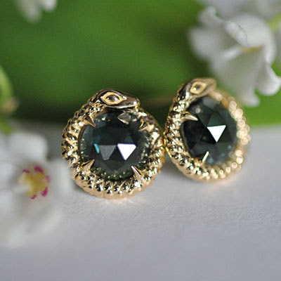 st. kilda earings, tourmaline earrings, jewelry