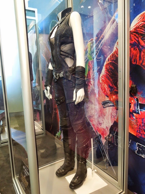 Gamora Guardians of the Galaxy movie costume