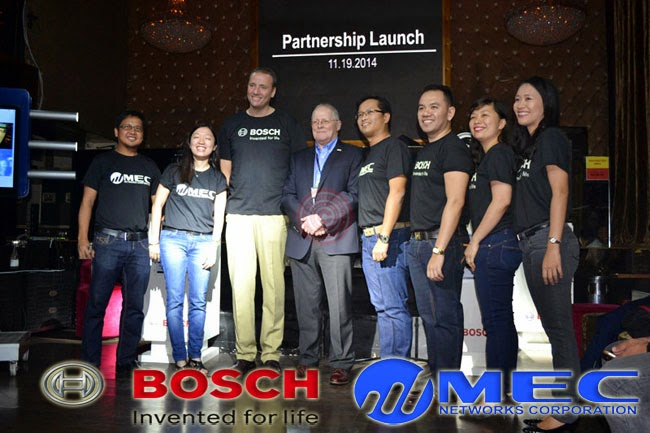 MEC-Bosch Partnership Launch to Enhance Physical Security System in the Philippines