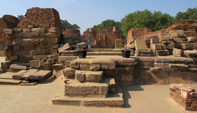 Mulagandha Kuti ruins at Sarnath