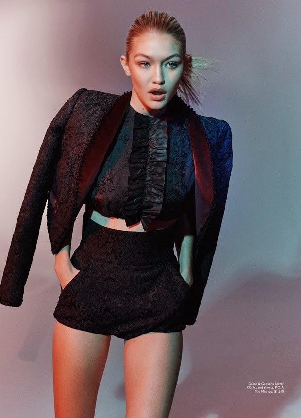 Smartologie Gigi Hadid For Vogue Australia June 2015