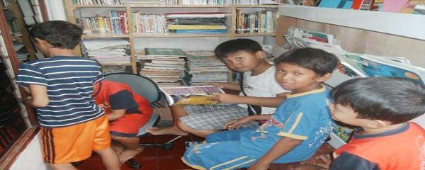 Perpustakaan Lingkungan Bermain Yang Mendidik
