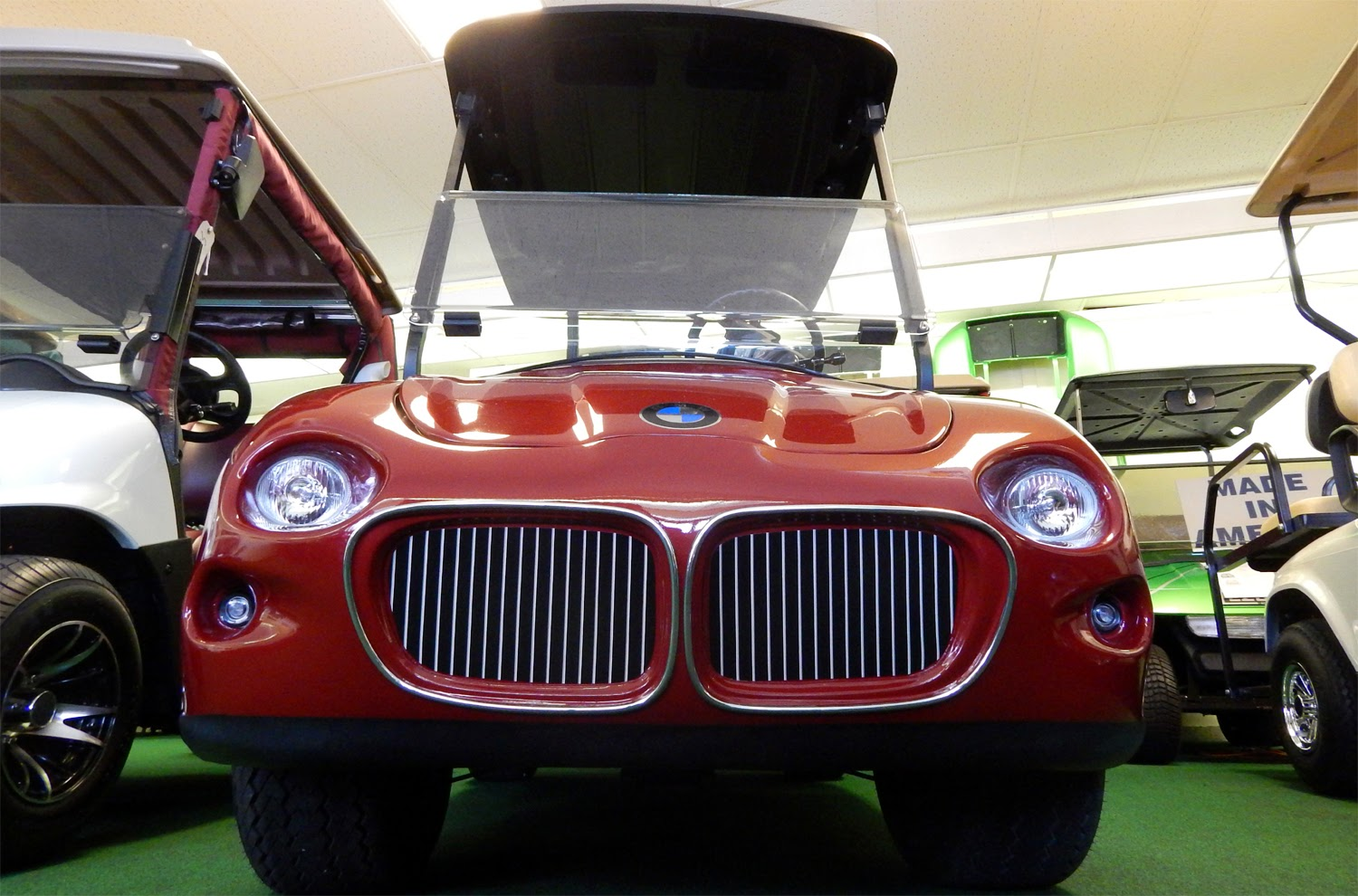 Get pricing of bmw club car golf cart at west coast golf for Sun motor cars bmw