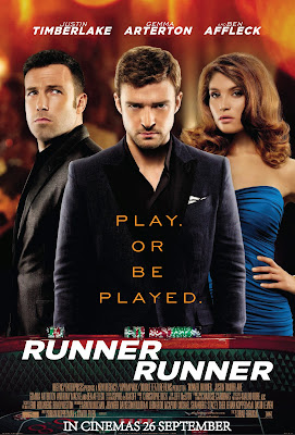 Runner Runner movie poster large malaysia