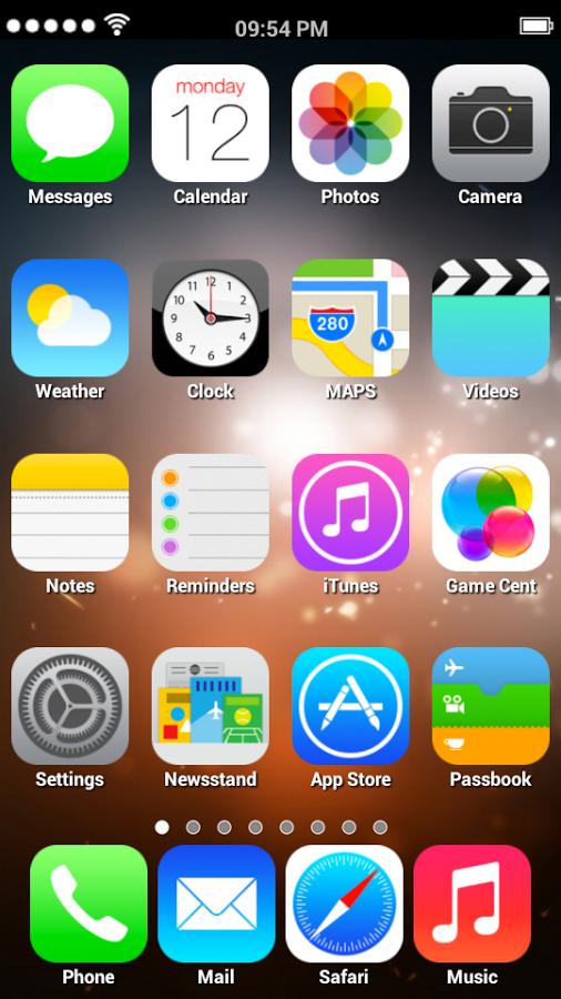 скачать лаунчер айфона 5s на андроид - фото 11