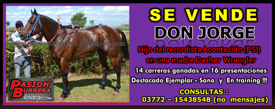 SE VENDE - DON JORGE