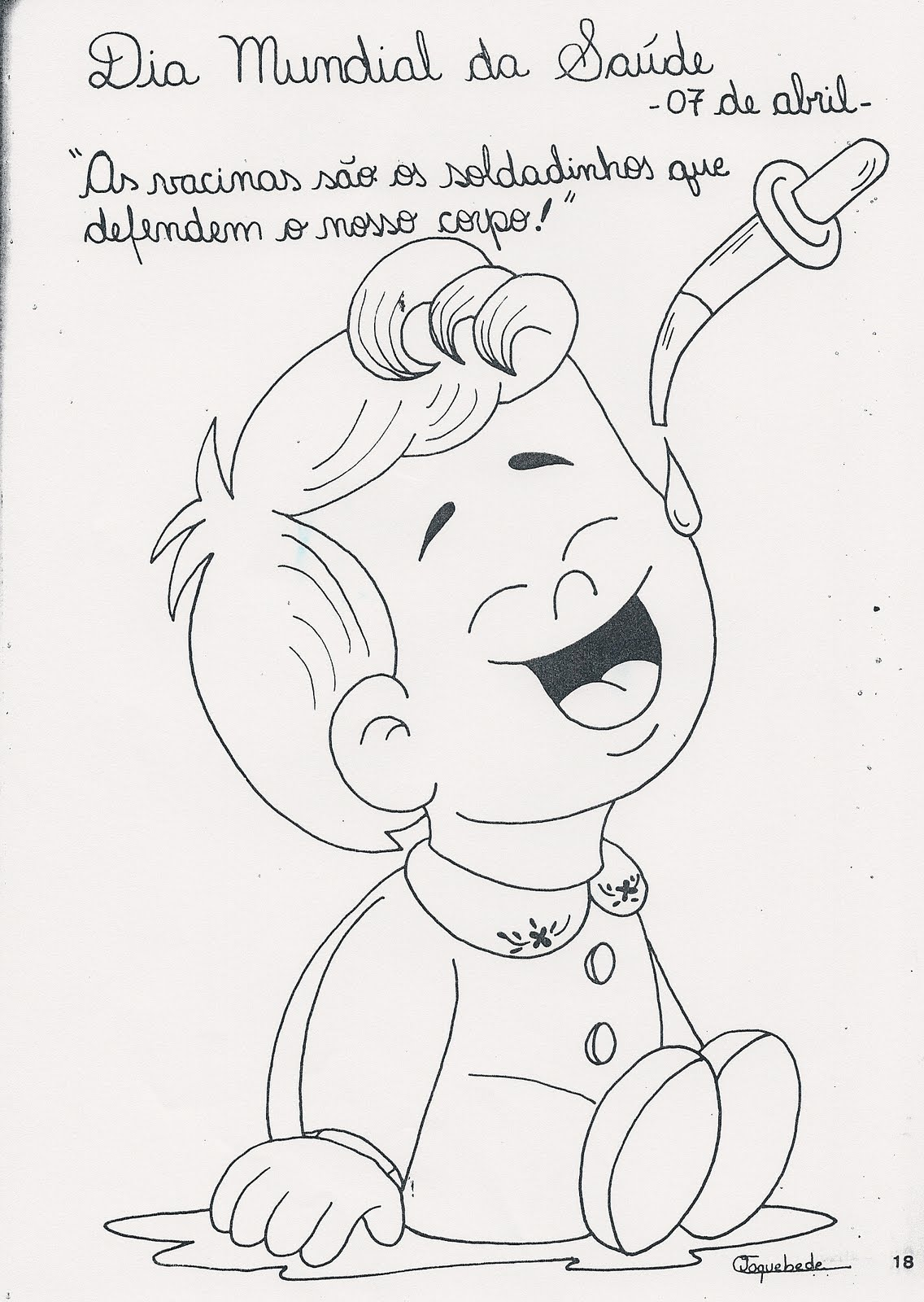 cdi centro de desenvolvimento 1ª infancia desenho para colorir