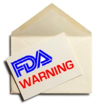 what does b4 and b6 mean in an fda warning letter