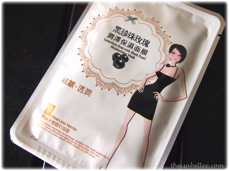 Timeless Truth Luxurious Rose with Black Pearl Moisturizing Mask