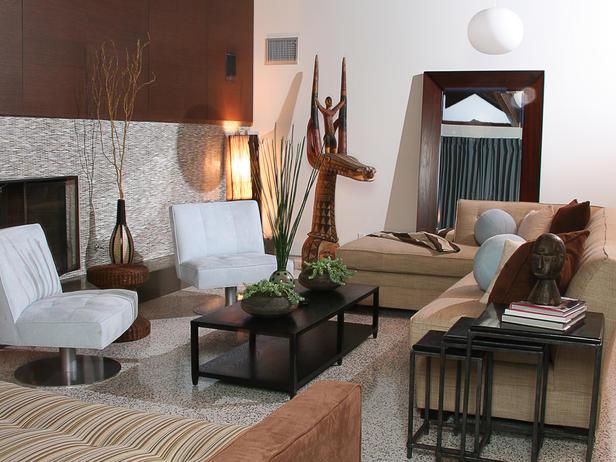 Contemporary Living Room Decorating Design Ideas 2012 By Lori Dennis ...