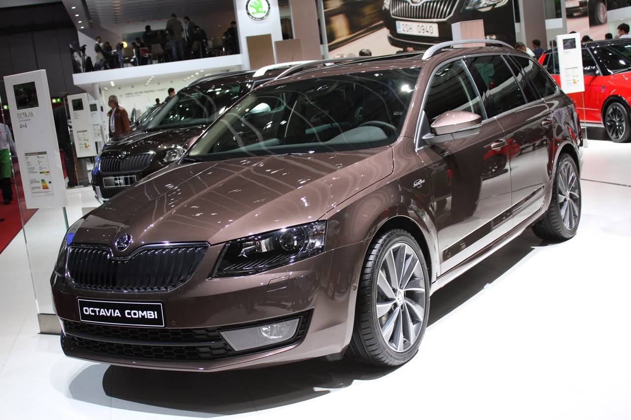 koda octavia combi laurin and klement edition geneva 2014 photos latest auto design. Black Bedroom Furniture Sets. Home Design Ideas