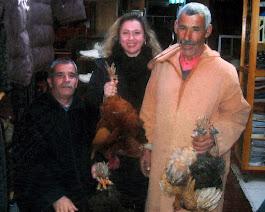 mercanti di polli a Casablanca