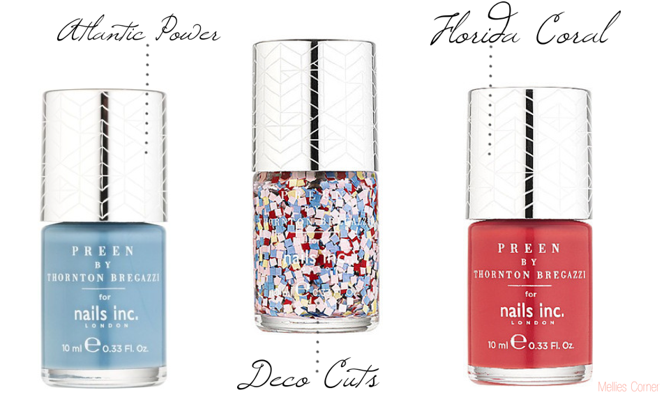 Nails Inc Preen Collection by Thornton Bregazzi - Mellies Corner