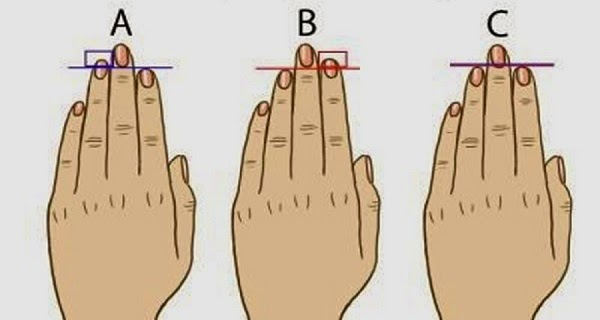 This Is What Different Fingers Length Reveals About Your Personality!