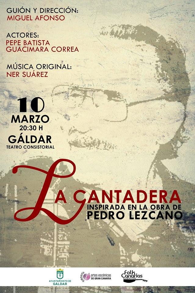 La Cantadera el Sábado 10 en Galdar