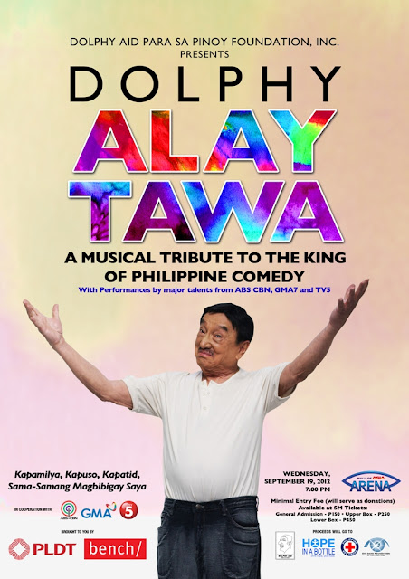 Dolphy Alay Tawa Tribute Concert to Benefit Noteworthy Causes