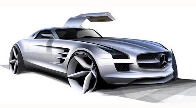 Mercedes SLS concept