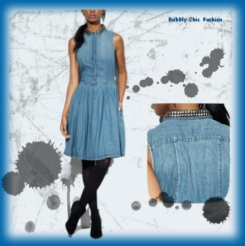 modni trend proljeće 2013 traper levis bubbly chic fashion