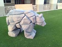 Kids Church Theming - 3D Bear Sculpture
