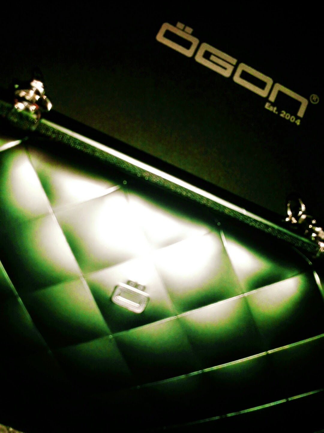 clutch quilted lady bag by ogon design