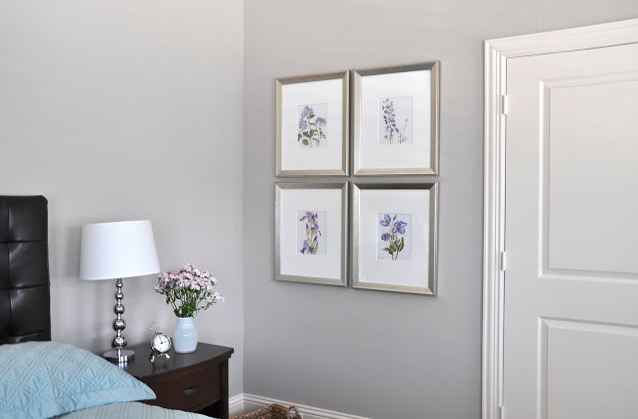 Originally, I was thinking a light or medium gray, something similar, maybe  a little darker than our bedroom (Sherwin Williams Essential Gray).
