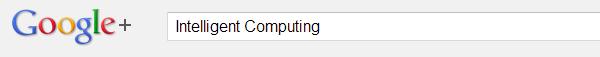 Google+ header Image: Intelligent Computing