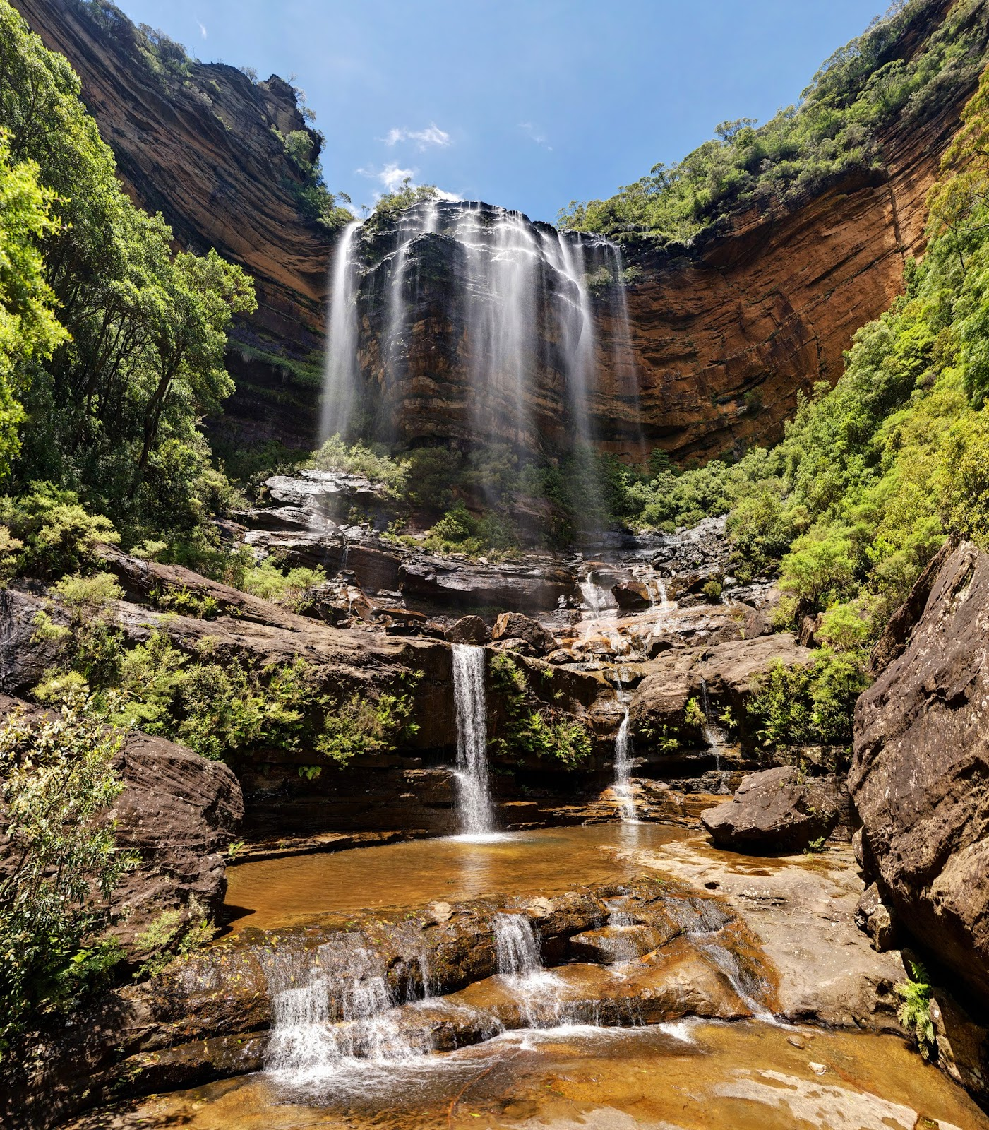 Wentworth Australia  City new picture : Travel Trip Journey: Wentworth Falls, New South Wales Australia