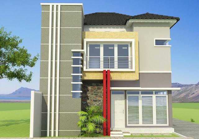 Model Rumah Minimalis 2 Lantai