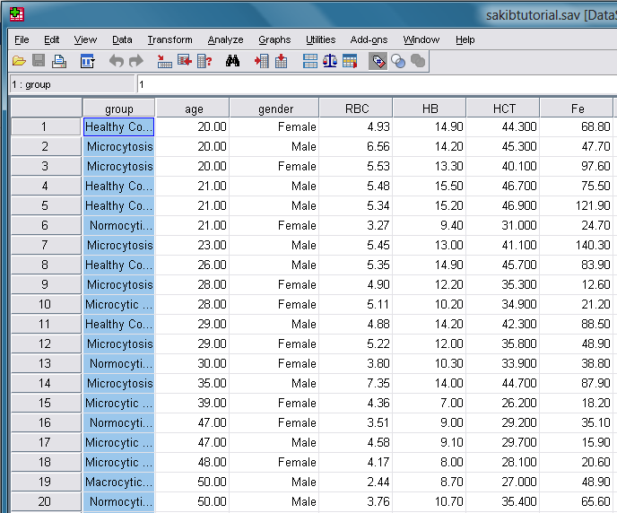 how to make histograms in spss