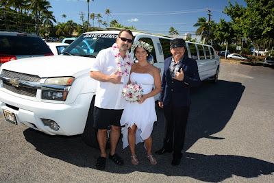 Waikiki Wedding Limo
